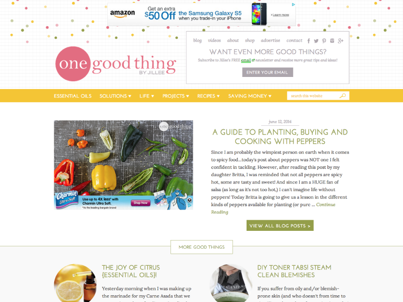 One Good Thing by Jillee - Homepage